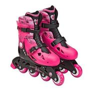 Patins Ajustaveis Barbie 37 A 40 - Fun - Bonellihq X20