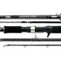 Vara Pesca Pesada Sumax Kenzaki 40lb 3m 2p. P/ Carretilha