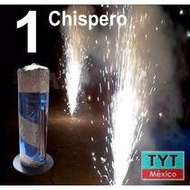 Vela Magica Chispero Electrico Luz Lluvia Fria Escenarios Xv