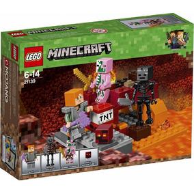 Lego Minecraft El Combate En El Infierno Original 21139