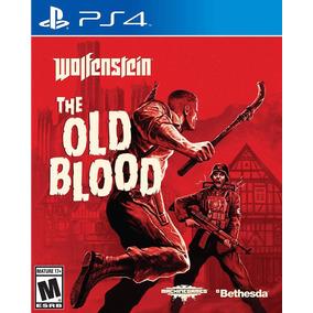Wolfenstein The Old Blood Juego Ps4 Oferta