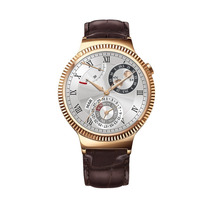 Huawei Watch Smart- Acero Inoxidable Rose Gold Color Piel