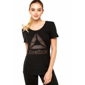 Outlet Reebok Remera Brand Foil Cobre