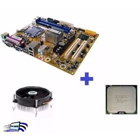 Kit Placa Mãe Ddr3 775 Ipm41-d3+core 2 Duo+cooler! Promoção!
