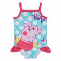 Traje Trajes De Baño Para Niña Niñas Peppa Pig Rym R4775