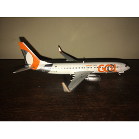 Avião Miniatura Gol B737-800 - 1:400 Gemini Jets