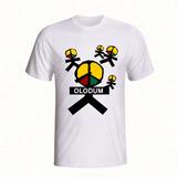 Camiseta Camisa Personalizada Banda Axé Olodum Reggae
