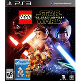 Lego Stars Wars Force Awakens Ps3