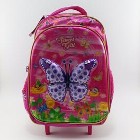 Mochila De Carrinho Sweet Girl 16 Rosa - Sgc700405 Sanya