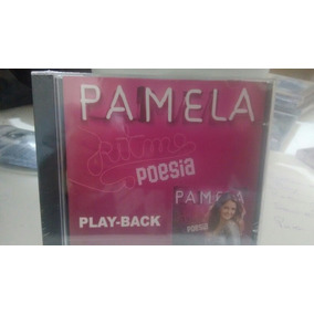 Cd Pamela Ritmos E Poesia Play Back Novo