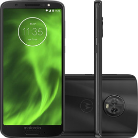 Smartphone Motorola Moto G6 Preto Dualchip 64gb Tela 5.7 C