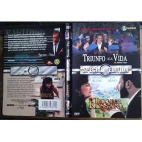 Triunfo A La Vida Y Todo Por Rossana 2 Pelicula En 1 Dvd