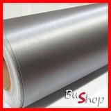 Vinilo Aluminio Cepillado, Acero Decoracion Auto 61 Cm X 1m