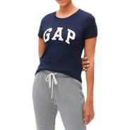 Gap Camiseta Manga Curta Original Feminina Eua Orlando