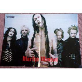 Marilyn Manson Poster 28 X 40 Cm Excelente Estado