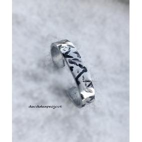Bracelete Pulseira Masculina Alumínio Reciclado