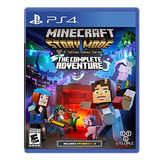 Juego Ps4 Minecraft Story Mode The Complete Adventure