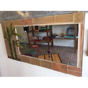 Espejo Locetas En Vitrofusion - Bambú