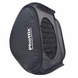 Soft Box Phottix Plegable 60x60cm P/ Flash C/ Rotula Panal