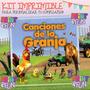 Kit Imprimible Canciones De La Granja - Promo 2x1