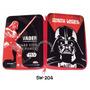 Cartuchera Star Wars 2 Pisos Tapas Metalicas Licencia Disney