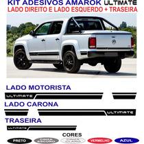Faixa Lateral Vw Amarok Ultimate Cabine Dupla Acessorios Kit
