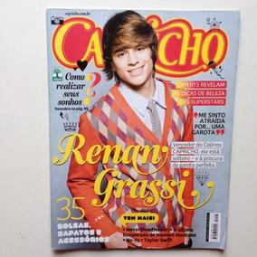 Revista Capricho N°1103 Renan Grassi Chistopher Drew Justin