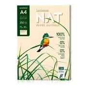 Resma Ledesma Nat A4 75grs Papel Natural X 250 Hojas - Eco