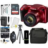 Canon Powershot Sx420 Es La Cámara Digital (rojo) Con 20mp,