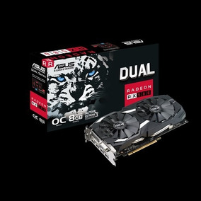 Tarjeta Video Asus Radeon Rx 580 8gb Dual-fan Oc Amd Eth