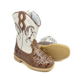 Bota Country Infantil Texana Rodeio Cowboy Peão Kifofo 8166 fd4244a8454