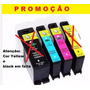 Kit 4 Cartucho Compativel Lex 100xl 105xl 108xl S305 Pro 205