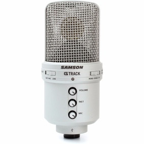 Microfono Samson G-track Usb Condenser Con Interfaz De Audio
