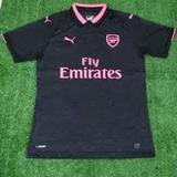 Camiseta Arsenal De Inglaterra Talles Adultos Lisas Tras
