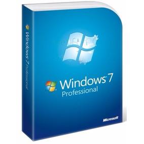 Licença Windows 7 Pro 32/64 Bits Nota Fiscal Com Garantia