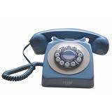 Telefone 100% Retrô Vintage Exclusivo Cor Azul Antigo