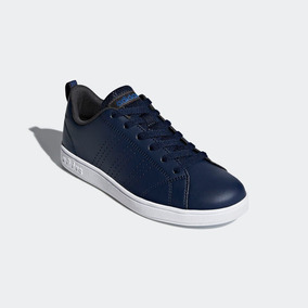 Tenis adidas Advantage Clean Niño Azul 100% Original Db1936