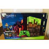 Xbox One S Edición Limitada Minecraft 1 Tb Nuevo