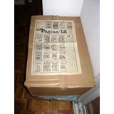 Coleccion Diarios Pagina 12 De 1987 A 1989