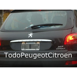 Moldura Embellecedor Porton Peugeot 207 5 Puertas Original