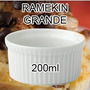 Conjunto 50 Ramequin Grande 200 Ml - Porcelana Para Forno