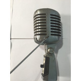 Microfone Shure 55h Serie Ll Antigo Original.