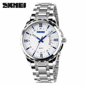 Relógio Skmei 9069 Masculino Inox Casual Social