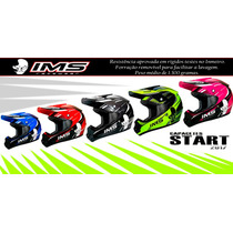Capacete Ims Start 2017 Motocross Trilha