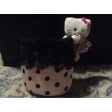 Porta Vaso Para Carro Hello Kitty