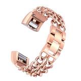 Enlaces Acero Metal Pulsera Brazalete Reloj... (chain Lin.)