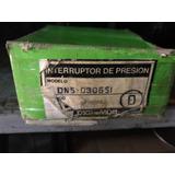 Interruptor De Presión Marca Saginomiya Modelo Dns-030651