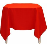 Toalha De Mesa Vermelha 1,50x1,50cm Oxford Festa Buffet Mg