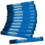 Crayón De Madera Industrial Dixon Azul - 12 Por Paquete