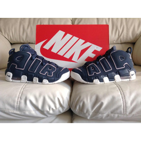 Tenis Nike Air More Uptempo Thunder Blue 24.5mx Dama O Niño
